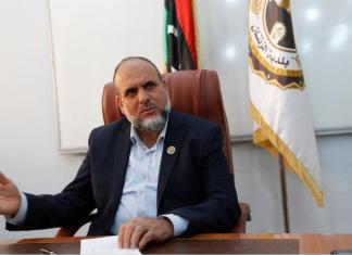 مصطفى الباروني عميد بلدية الزنتان - رويترز - إنترنت